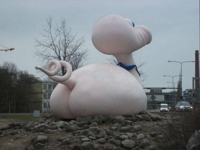 Cele mai ciudate statui din lume - Poza 7