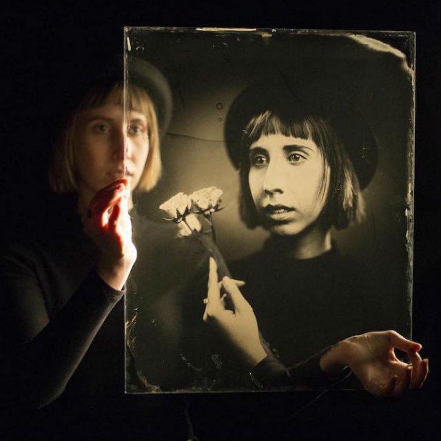 O juxtapunere a timpului: Portrete vintage superbe - Poza 1