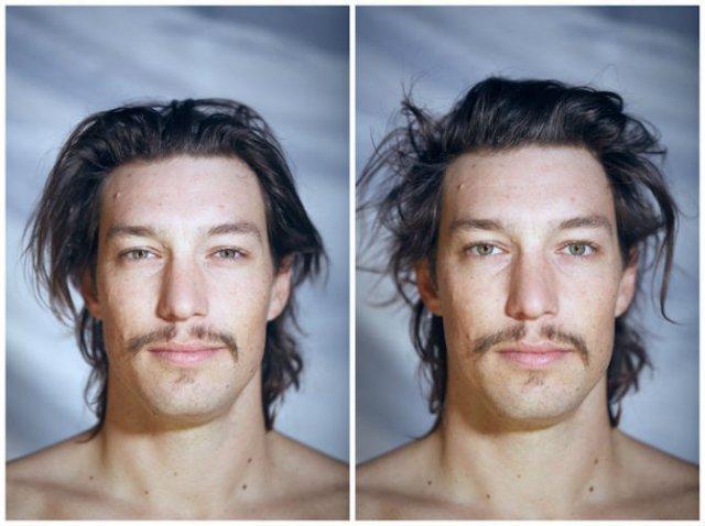 Goi in fata fotografului: Mimica oamenilor dezbracati - Poza 2