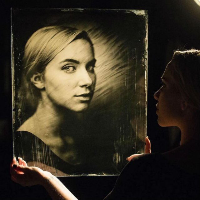 O juxtapunere a timpului: Portrete vintage superbe - Poza 2
