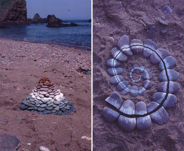 Ansambluri artistice cu resturi din natura - Poza 4