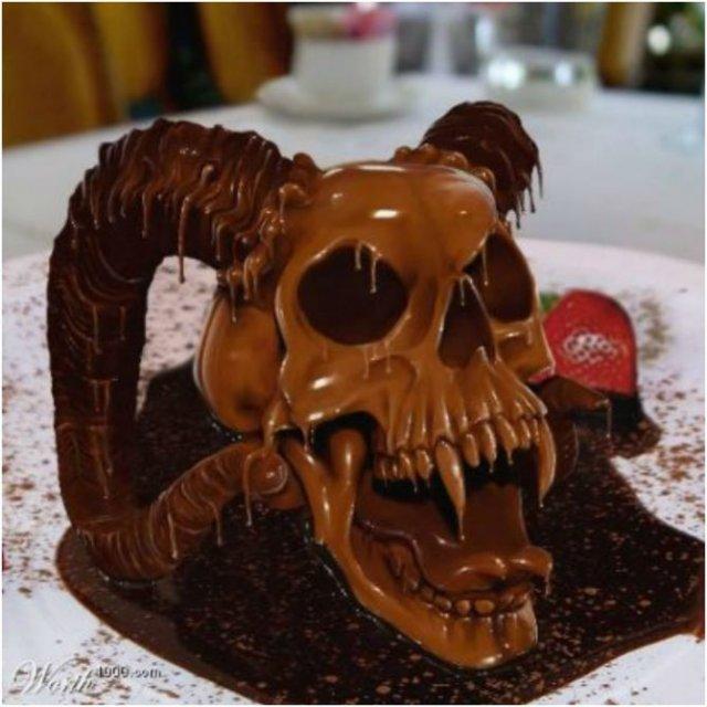 Arta, dulce arta: Creatii delicioase din ciocolata - Poza 11