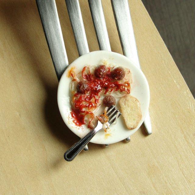 Delicii culinare miniaturale, de Kim Clough - Poza 15