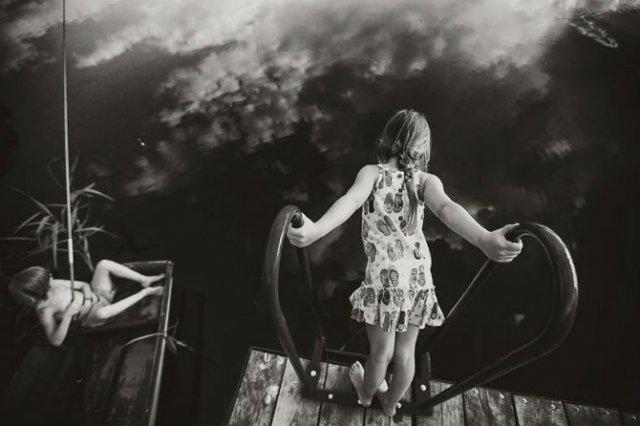 Copiii lumii, in poze alb-negru - Poza 15
