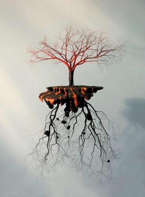 Metafora vizuala a dezradacinarii - Poza 9