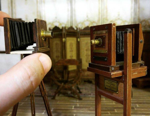 Miniatura unui studio fotografic din 1900 - Poza 12