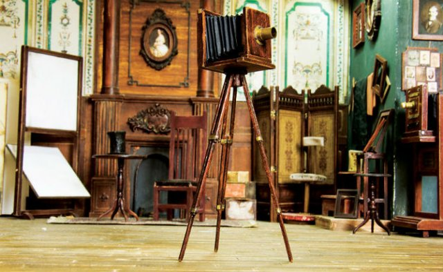 Miniatura unui studio fotografic din 1900 - Poza 13