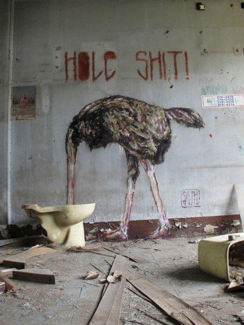 Interventii urbane: Picturi stradale geniale, in contexte banale - Poza 3