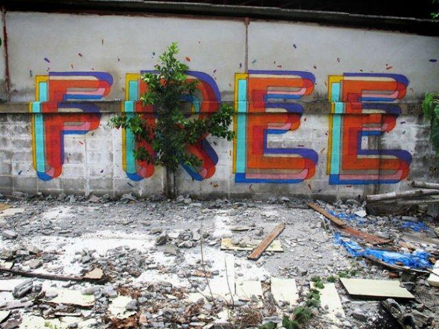 Interventii urbane: Picturi stradale geniale, in contexte banale - Poza 4