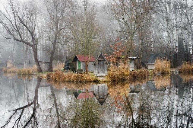 Frumosul firesc al unui sat de pescari, in poze mistice - Poza 1