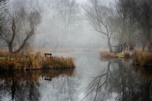 Frumosul firesc al unui sat de pescari, in poze mistice - Poza 7