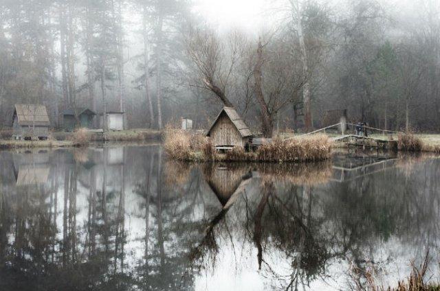Frumosul firesc al unui sat de pescari, in poze mistice - Poza 2