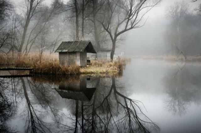 Frumosul firesc al unui sat de pescari, in poze mistice - Poza 3