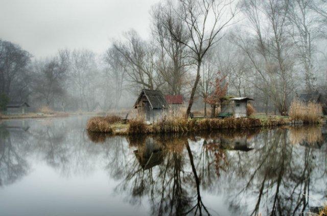 Frumosul firesc al unui sat de pescari, in poze mistice - Poza 5
