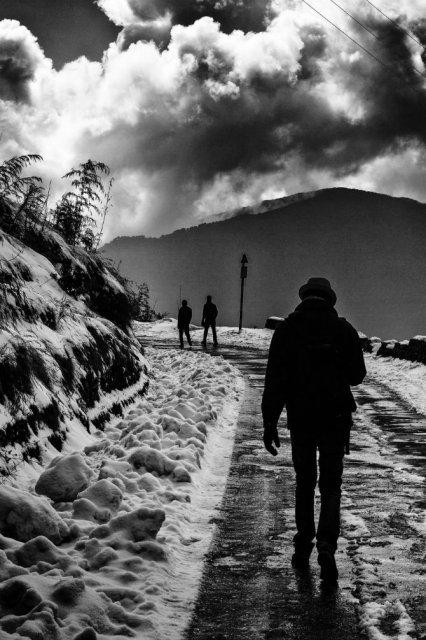 Frumusetea Indiei in alb si negru - Poza 8
