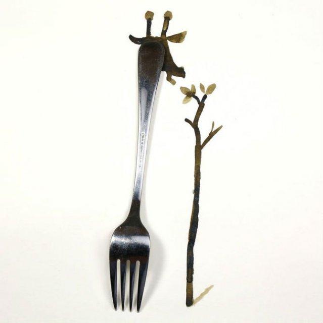 Compozitii artistice cu obiecte simple - Poza 13