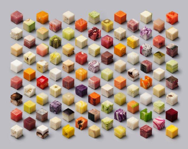 Cuburi comestibile pentru perfectionisti - Poza 1
