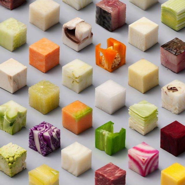 Cuburi comestibile pentru perfectionisti - Poza 2