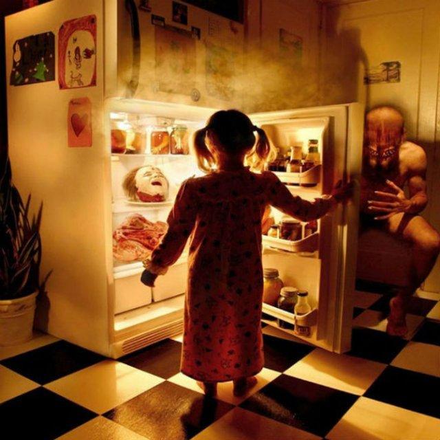 Fricile copilariei, in poze de groaza - Poza 10