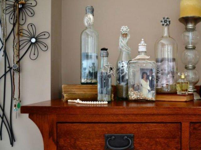 15 Moduri de a reutiliza sticlele de vin - Poza 11