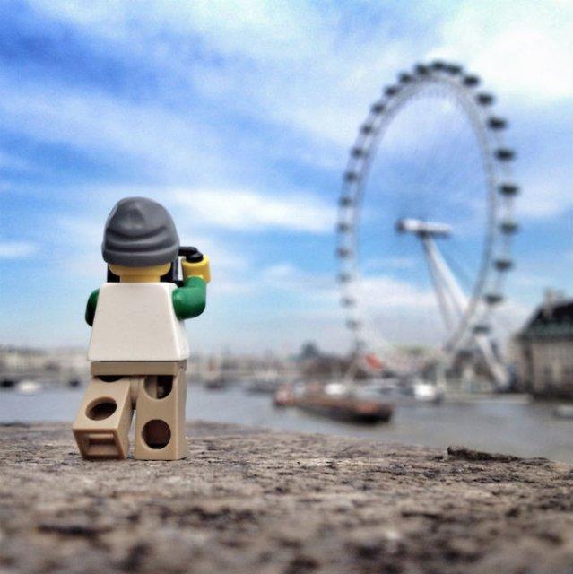 Aventurile unui omulet Lego prin Londra - Poza 18
