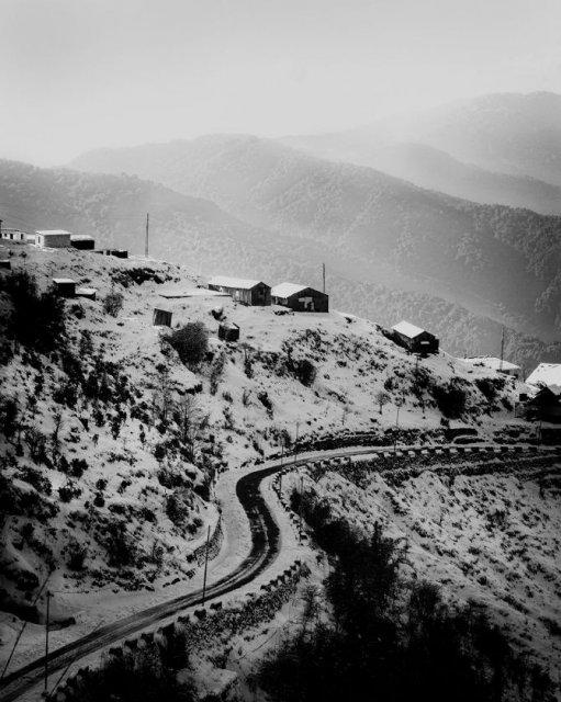 India in alb si negru