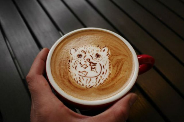 Bauturi pe baza de cafea frumos decorate - Poza 11