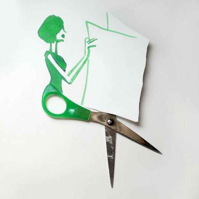Compozitii artistice cu obiecte simple - Poza 11