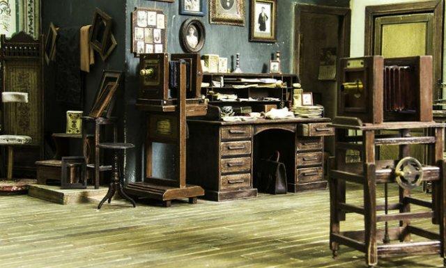 Miniatura unui studio fotografic din 1900 - Poza 5