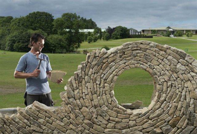 Fostul zidar care transforma piatra in arta - Poza 4