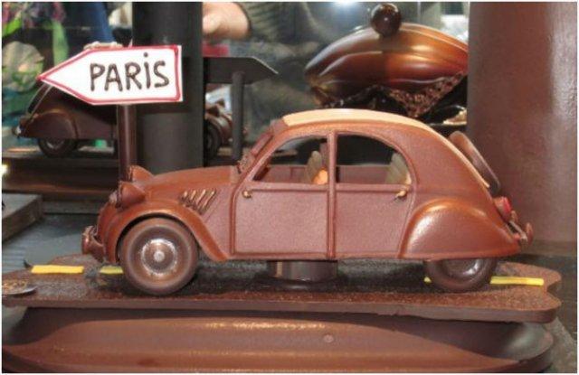 Arta, dulce arta: Creatii delicioase din ciocolata - Poza 10