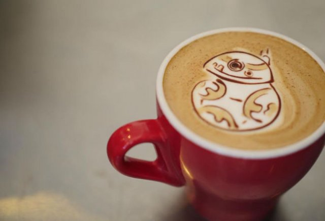 Bauturi pe baza de cafea frumos decorate - Poza 9