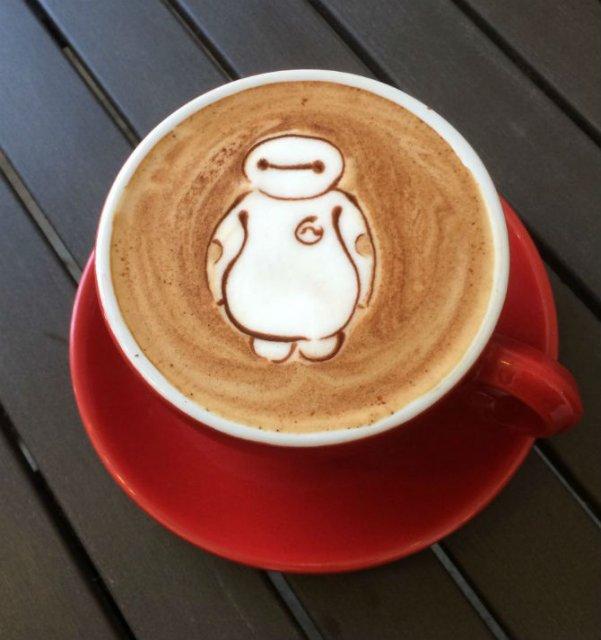 Bauturi pe baza de cafea frumos decorate - Poza 3