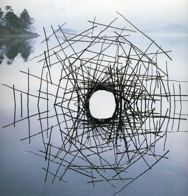 Ansambluri artistice cu resturi din natura - Poza 9