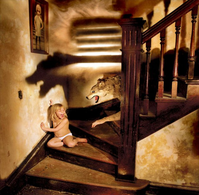 Fricile copilariei, in poze de groaza - Poza 7