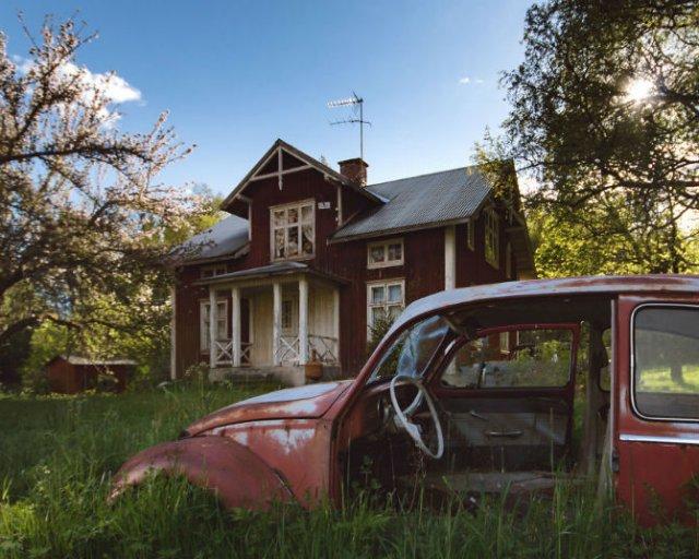 Frumusetea caselor abandonate de pe taramurile nordice - Poza 14