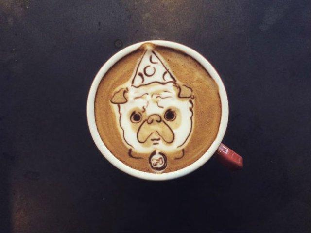 Bauturi pe baza de cafea frumos decorate - Poza 5