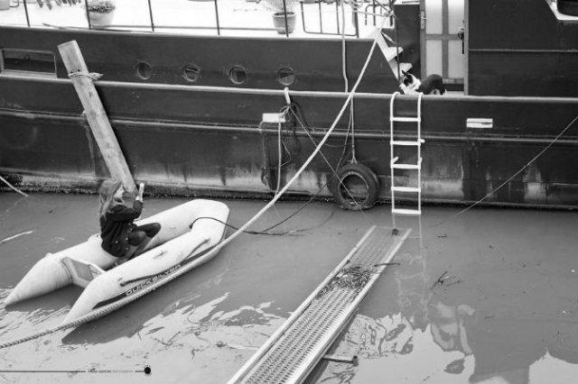 Parisul sub ape, in fotografii alb-negru - Poza 7