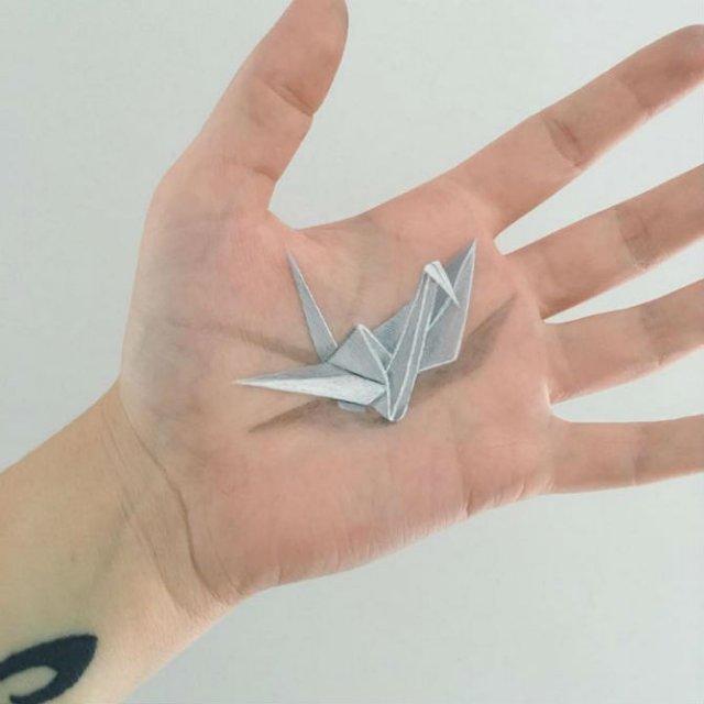 Picturi 3D pe piele, cu Lisha Simpson - Poza 10