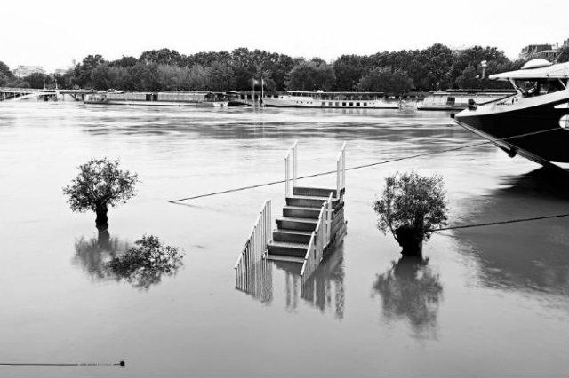 Parisul sub ape, in fotografii alb-negru - Poza 2