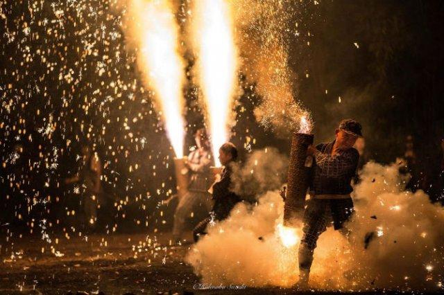 Festivalul Artificiilor: Traditiile explozive ale japonezilor - Poza 14