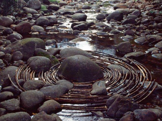 Ansambluri artistice cu resturi din natura - Poza 11