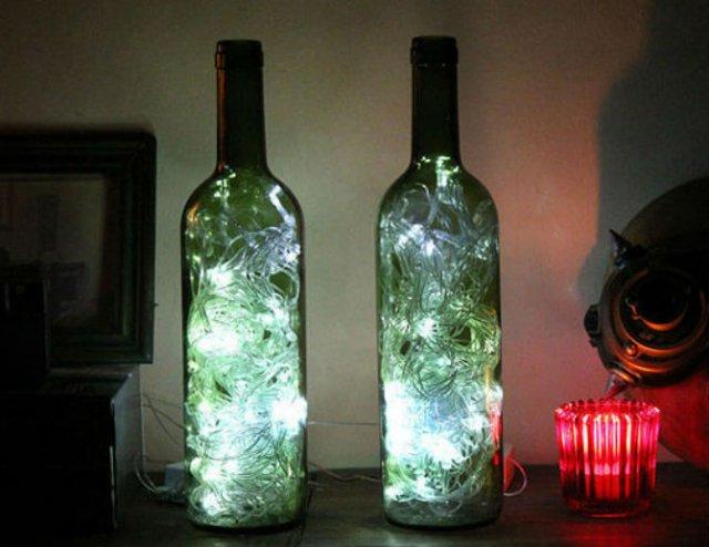 15 Moduri de a reutiliza sticlele de vin - Poza 2