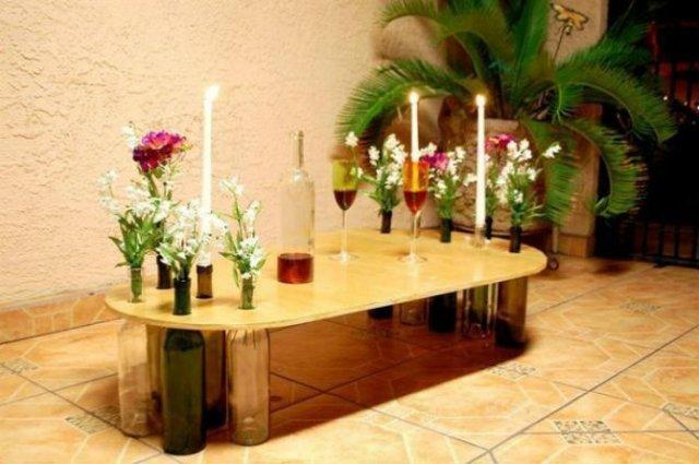 15 Moduri de a reutiliza sticlele de vin - Poza 3