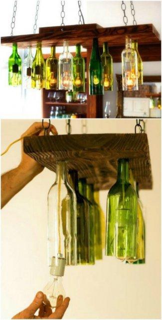15 Moduri de a reutiliza sticlele de vin - Poza 5