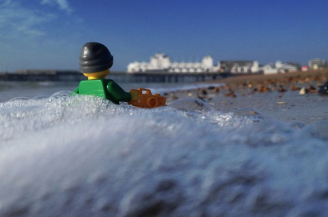 Aventurile unui omulet Lego prin Londra - Poza 15