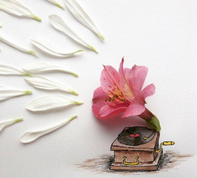 Obiecte banale transformate in ilustratii haioase - Poza 15