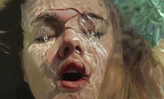 Amintiri de sub apa, in picturi realiste - Poza 8