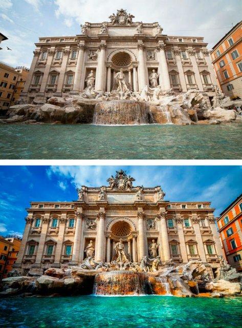 Poze turistice trucate: Locuri superbe care nu sunt ceea ce par
