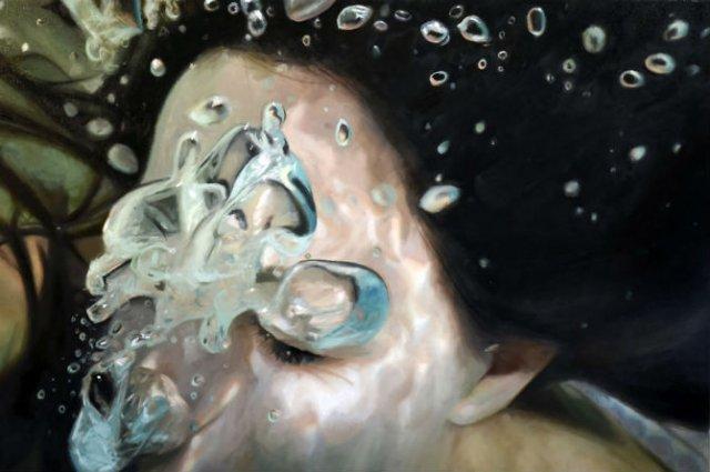 Amintiri de sub apa, in picturi realiste - Poza 6